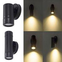 야외 벽 램프 조명 알루미늄 방수 장착 열 램프는 현관, 뒤뜰 및 테라스에 적합합니다.