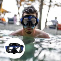 Diving Masks 1Pc Silicone Waterproof Mask Portable Sport Camera Goggles