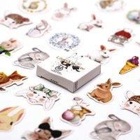 3 pezzi / lotto 2019 nuovo Bunny Washi nastro decorata nastro di mascheratura washi set giapponese fai da te scrapbooking adesivo ufficio adesivo adesivo adesivo 2016