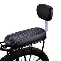 دراجة السروج دراجة مقعد الظهر حصيرة الطفل بو الجلود غطاء الرف الرف وسادة مع أجزاء الدورة السرج أجزاء