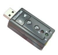 200pcs lot mini USB 2.0 3D esterno 7.1 canali suono virtuale 12 Mbps audio scheda audio scheda adattatore di alta qualità