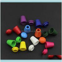 Andra manschettknappar Tie Clasps, tacks smycken200pcs sladd slutar klockstopp med locklås Färgrikt plastväxelklämma för paracord klädpåse