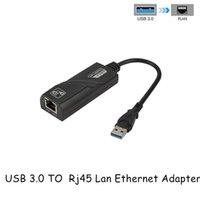 Wireless USB 3.0 To Gigabit Ethernet RJ45 LAN Network Adapter Ethernet Network Card For PC Wholesales USB 3.0 Converter