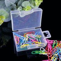 Cassetta portautensili Scatola contenitore di plastica elettronica per strumenti caso cassa da cucito pp scatole trasparente componente trasparente vite gioielli scatola di immagazzinaggio rre10395