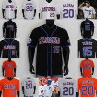 Florida Gators البيسبول جيرسي ستيرلين تومبسون 29 كاريون كريستيان سكوت 55 بن Spect 28 Centala 12 هانتر باركو براندون سبورات 47 صولجان
