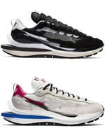 2021 릴리스 SACAI X VAPORWAFFLE LDWAFFLE LDV 블랙 화이트 그린 블루 레드 남성 여성 야외 신발 원래 상자와 스포츠 스니커즈