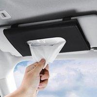 Tissue Boxes Servietten Auto Halter Convenience Sun Visor Serviette Aufbewahrungskoffer für TS1 Sunshade Chair Back Sunroof