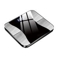 Костная масса USB аккумуляторная высокая нагрузка ИМТ BMI Жировка жира в корпусе Auto on Off Smart Цифровой вес с приложением Bluetooth Gravity Induction