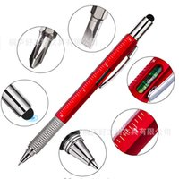 Screwdrivers Hand Tools Home & Gardenmti Function Screwdriver Rer Spirit Level Tool Ballpoint Pen With A Top And Scale Stylus For Touc Bbykf
