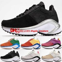 Tribel Black Casual DMSX Waffel Größe US 5 12 Frauen Mens EUR 46 Runnings D / MS / X Sportmänner 35 Trainer Sneakers Klassische Schuhe Skateboard