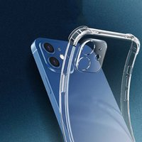 Phone Case Soft Transparent Clear IPhone 13 Cases Protective Cover Shockproof cellphone shell for iPhones 13promax 12 11pro 7 X XS fall proof dirt resistant nice