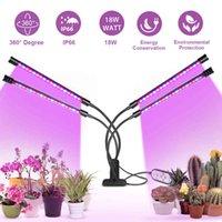 LED Grow Light USB Phyto Lamp Full Spectrum 4 Head Tent Complete Kit Phytolamp for Plants Seedlings Flowers Indoor Box
