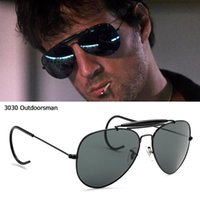 Sunglasses JackJad Vintage Classic 3030 OUTDOORSMAN Style HOOK Optical Glass Lens Brand Design Sun Glasses