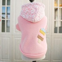 Dog Apparel Pet Hoodie Coat Soft Fleece Warm Puppy Clothes Sweatshirt Winter For Small Dogs Shop