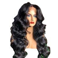 HOP TRPLE HD Frente de encaje transparente Pelucas de cabello humano Diva 250 Densidad Ola suelta 360 Encaje Peluca frontal 360 Cierre Full Lace Wig