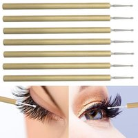 Makeup Brushes 50 Disposable Bamboo Handle Bag Fiber Brush Head Eyelash Cleaning Stick Portable Solid Toothbrush Lipstick Beauty Tool