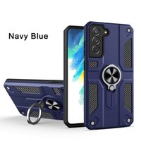Ring Holder Phone cases For Samsung S21 A72 A52 iPhone 13 12 11 Pro Max Xs XR X SE 7 8 Heavy Duty Kikstand Shockproof Protective Cover