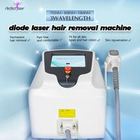 Big promotion 808nm 3 wavelength machine diode laser permanent hair removal 1600W handle 2 years warranty