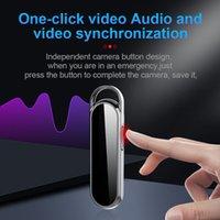 Catena chiave professionale Mini fotocamera Digital Voice Recorder D8 HD 1080P Keychain Audio Video Recorder Build-in Scheda di memoria da 16 GB da 16 GB