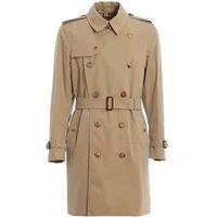 SS Solid Color Mens Trench Пальто пружины и осенью зима классика мода средняя длина ветровка большого размера пальто