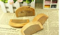 2021 Best Quality Natural Wooden Comb Beard Hair Brush Pocket Wood Combs Hair Massage Har Care Styling Tool Free Ship