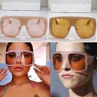 Womens Sunglasses POWER 2 Des lunettes de soleil Sonnenbrille oversized frame fashion catwalk style Glasses beach vacation designer top quality UV400 protection