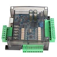 Controle Início Inteligente JFBL FX3U-14MT PLC Board Industrial 8 Entrada 6 Saída 6ad 2DA e RS485 RTC compatível com FX1N FX2N