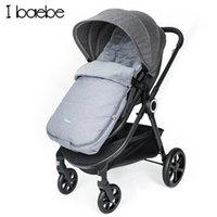 Designer lyxvagn utomhus baby sovsäck för vindtät född säck fotmuff barn förtjockad kokong 0-36m