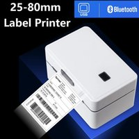 """Thermal Label Barcode Printer Sticker Printing Machine Width 25-80mm 3"""" 208mm s Shipping Label Printer for Windows MAC and Phone"""