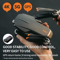 Drones 5 Pro Foldable GPS Drone 5G WiFi FPV HD Aerial Pography Camera Brushless Motor Quadcopter Aircraft RC Helicopter