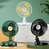 Andere Wohnkultur Mini Schreibtisch Fans Wandbehang 360 Grad Multifunktions Drei Windtischlampe Feste Rotation Studenten Schlafsaal Kleiner Fan
