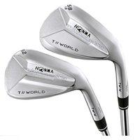 Golfclubs Wedges Honma T // Welt TW-W 48 oder 50 52 56 58 60 Grad Rechtshänder Club Steel Golf Welle