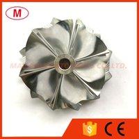 RHF5HB 51.00 / 61.98mm 6 + 6 lame Turbocompressore Turbo Billet Compressore Ruota compressore / Alluminio 2618 / Ruota di fresatura per Subaru VF30 / VF34 Cartuccia di aggiornamento / Chra / Core