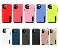Для iPhone 12 11 Pro Max XR гибридный матовый корпус брони металлическая крышка XS MAX 6 7 8 плюс Samsung Note 20 Ultra S21 S20 Plus S10