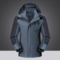 Ceket erkek ve bayan ilkbahar ve sonbahar ince rüzgar geçirmez su geçirmez tek katmanlı ceket moda açık dağcılık giyim