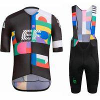 Гоночные наборы 2021 Рафафлый Велосипедные костюмы EF Образование Велоспорт Джерси Nippo Pro Команда Одежда MTB Велосипедные Рубашки Нагрудник Шорты Ciclismo Maillot