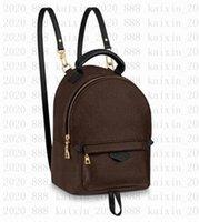 2020 caliente! Mochila de moda mochila masculina mochila mochilas escuela hombre de cuero bolsa de negocios gran laptop compras bolsa de viaje Vitton M44874