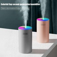 Air Humidifier Freshener Oil Diffuser Timming USB MINI 270ML Ultrasonic Romantic Light Mist Maker Purifier Aromatherapy for Home Car