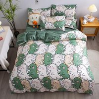 Bedding Sets Bed Sheet Coverlet Double Single Student Dormitory 4-Piece Set Dustproof Thickened Twill Four Seasons Universal Multi-Specifica