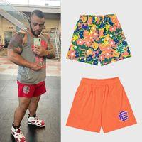 021 Eric Emanuel EE Basic Short Men's Women's fitness shorts, mesh breathable beach pants, sports series basketball pants new York_GOOD