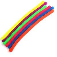 TPR Nudel Seil Dekompression Stress Relief Spielzeug Rundkopf Weiche Elastische Seil Umweltschutz Material Nudel Spielzeug Günstige H26RHG7