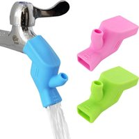 Küchenarmaturen Silikon Wasserhahn Extender Wasserhahn Verlängerung Senke Kinder Waschgerät Badezimmer Guide Extender