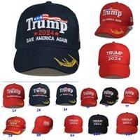 Trump 2024 Gorra de béisbol de los Estados Unidos Gorra de elección general Hacer que América sea genial nuevamente Donald Trump Snapback Sombreros deportivos Fashion Cap HH21-116