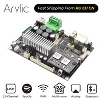 Up2Stream Amp V4 WiFi & Bluetooth 5.0 Stereo Amplifier Board 50W*2 DC 12-26V Multiroom Audio With Spotify Airply 211011