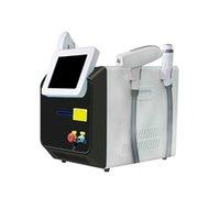 Direttamente portatile 3 in 1 Opt Depilazione / Laser + RF + Pico IPL Elight SHR ND YAG Laser Pelle di ringiovanimento dei tatuaggi Rimuovere la macchina multifunzionale di bellezza