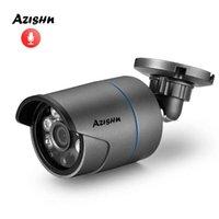 """Azishn H.265 Audio 5MP 1 / 2.7 """"SC5239 Metal IP Cámara IP al aire libre IP66 Detección de movimiento P2P POE / DC Seguridad CCTV CV 2MP / 3MP / 4MP / 5MP H0901"""