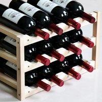 السنانير القضبان الصلبة الخشب النبيذ رف الديكور الأوروبي الرف، عرض المنزلية الإبداعية حامل المطبخ شريط التخزين