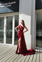 パーティードレス赤いガウンファッションレディースブリンドレスラグジュアリードレス