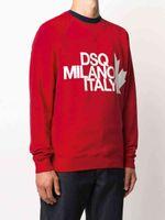 DSQ Phantom Turtle Sweat à capuche Nouvelle hommes Designer Sweats Hoodies Italie Sweatshirts de mode Automne Imprimer DSQ Hoode Homme Top Qualité 100% Coton Hauts 01218