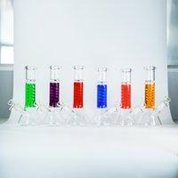 Глицерин катушки стеклянные бонги 8,7 дюймов 9 мм толстый кальян курение воды водопроводное масло